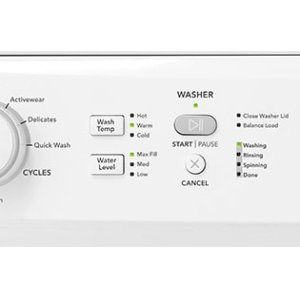 Laundry Cycle Status Lights Keep You Informed