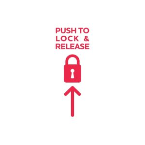 Push to Lock & Release Easy Install