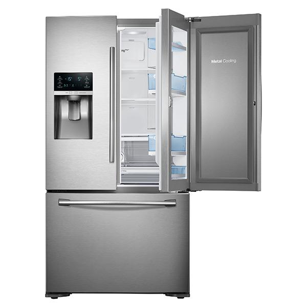 Samsung French Door Refrigerator Temperature Settings: Samsung Vs. Frigidaire Pro Counter Depth French Door