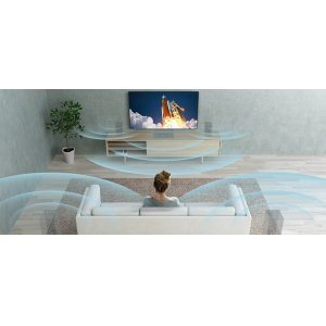 Enjoy multidimensional sound with S-Force Front Surround