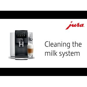 Cleaning the milk system