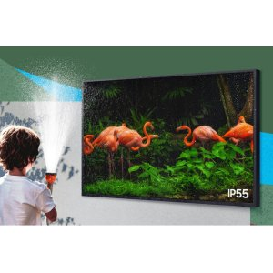 A TV made to live outdoors