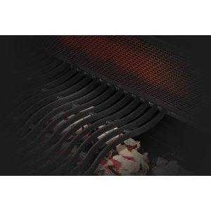 Rear Charcoal Rotisserie Burner