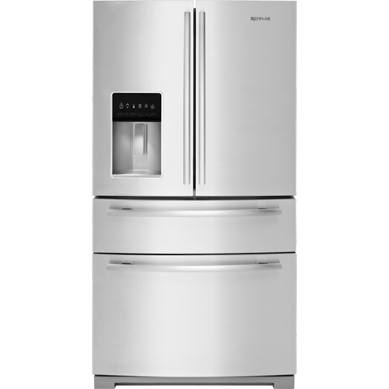 jenn air refrigerator side by side. jenn-air jfx2897drm standard depth stainless steel jenn air refrigerator side by