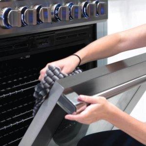 Easy-to-clean Enamel Interior