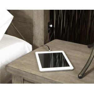 USB Headboard Charging Ports
