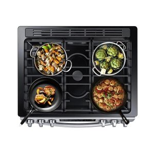 5 Gas Cooktop Burners
