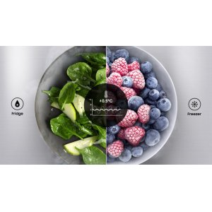 Precise cooling for ultimate freshness