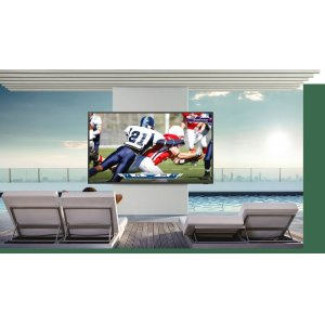 Bright and brilliant QLED 4K outdoor TV