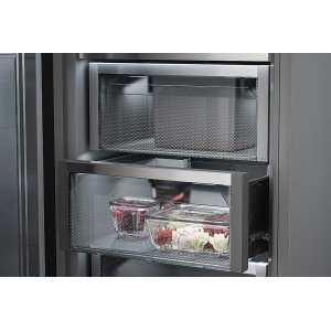 An Open and Shut Case for Frostsafe Freezer Drawers