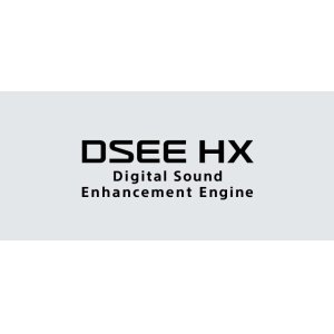 DSEE HX upscales your music files