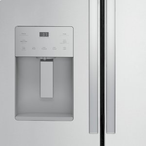 External Ice and Water Dispenser