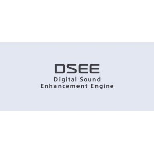 DSEE restores detail to your digital music