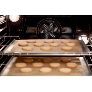Evenly baked results - on up to three levels.