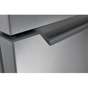 Smudge-Resistant Finish with Stainless Steel Look