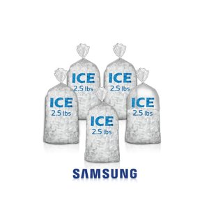 Up to 10 lb. of Ice Daily for Family and Friends