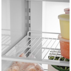 Customize your freezer space in an instant