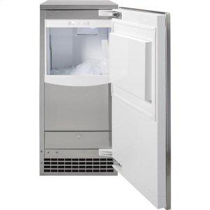 Large capacity ice bin