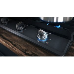 Convenient and precise burner control