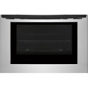 Color-Coordinated Oven Door with Large Window