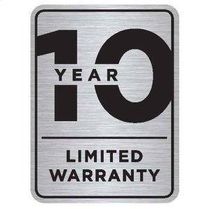 5-year/10-year/Lifetime Limited Warranty