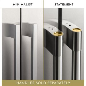 Statement and Minimalist Collection Refrigerator Handles (sold separately)
