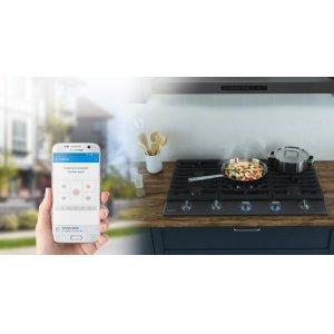 Remote & convenient cooktop monitoring