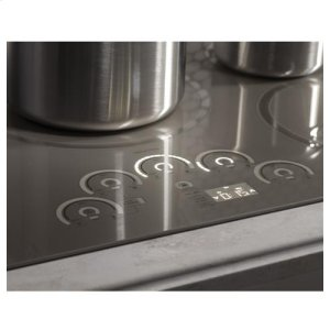 Five induction cooking elements