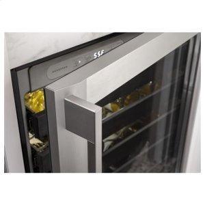 UV resistant, tempered glass door