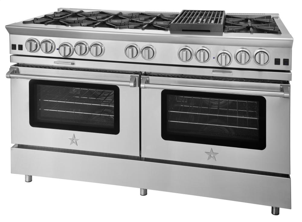 60-inch Platinum Series Freestanding Range from BlueStar