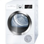 "24"" Compact Condensation Dryer 800 Series - White/Chrome"
