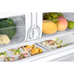 Two Humidity-Controlled Crisper Drawers
