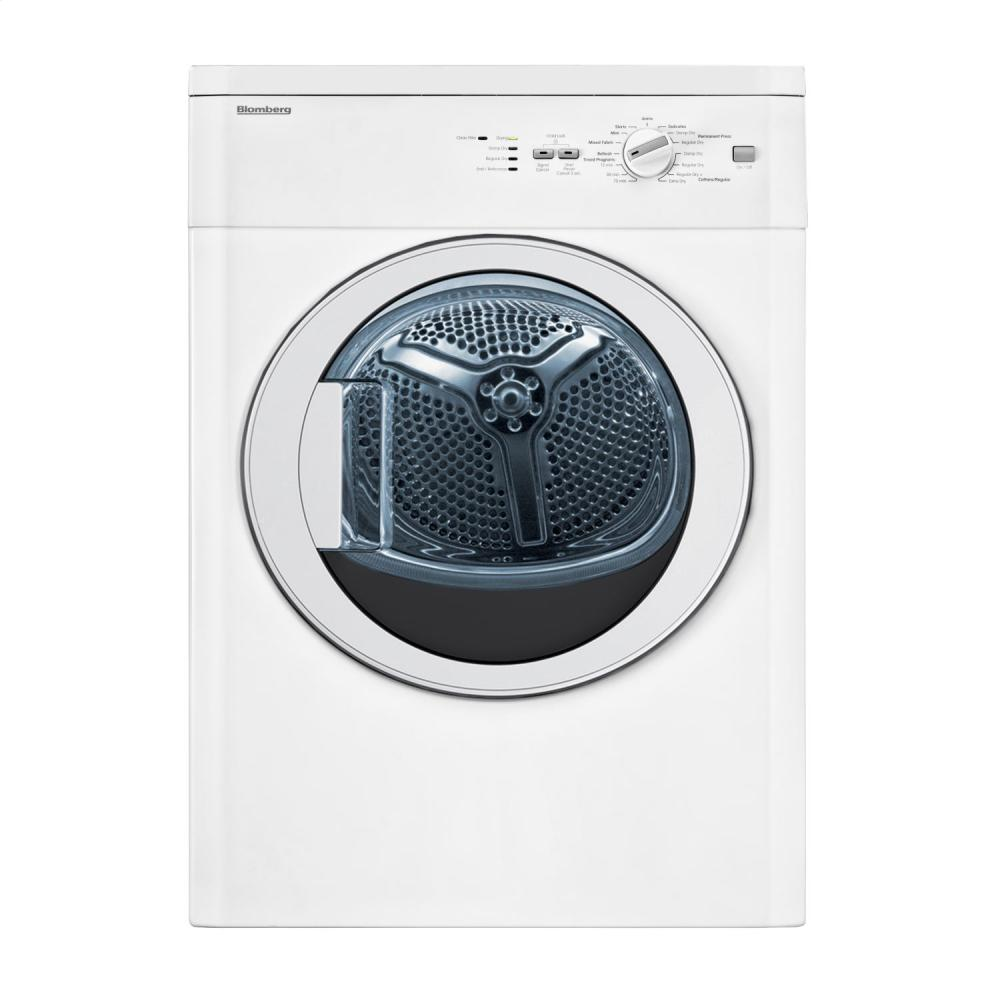 See Blomberg Compact In Mass Electric Dryers Vented Dv17542