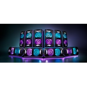 Expand your sound system with Wireless Party Chain via Bluetooth(R) technology