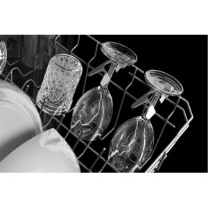 Four Stemware Holders in Middle Rack
