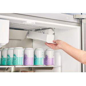 All-new QuickIcePro ? System, with the industry s fastest refrigerator ice maker.*