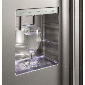 True stainless dispenser