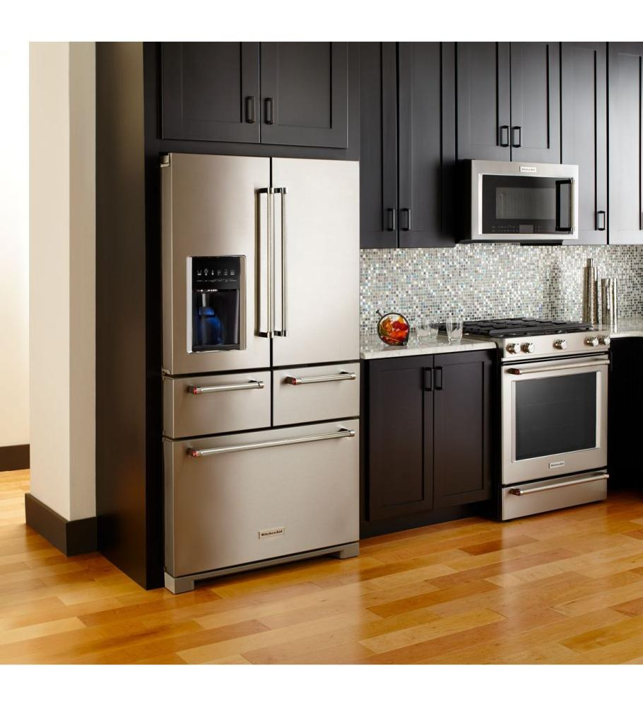 Kitchen With French Doors: See KitchenAid Refrigerators In MA
