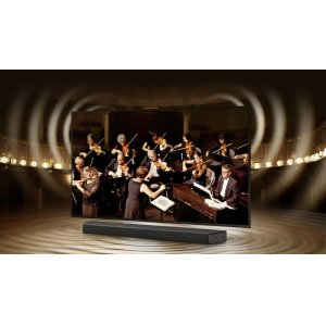 TV and soundbar in perfect harmony