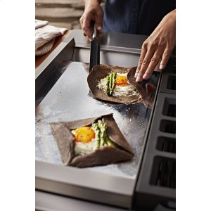 Chrome-Infused Electric Griddle