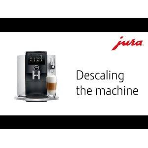 Descaling the machine