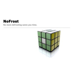 With NoFrost, never defrost your fridge again.