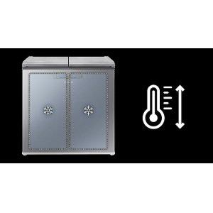Convert from fridge to freezer