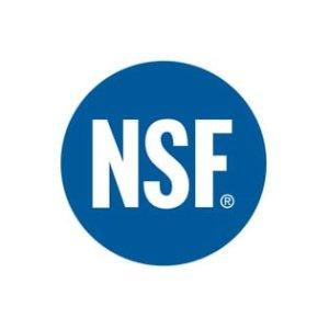 National Sanitation Foundation(R) Certified
