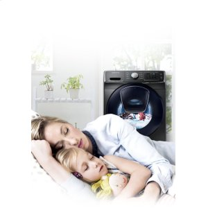 Peaceful washing anytime, anywhere