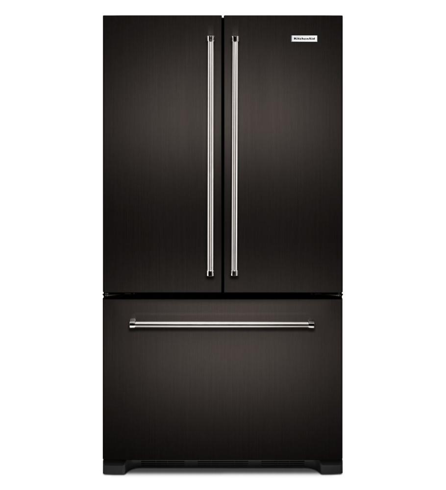 KitchenAid French Door Counter Depth Refrigerator - KRFC302EBS
