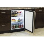 "24"" All Refrigerator (Marvel) - Solid Stainless Steel Door, Left Hinge"