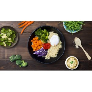 Enjoy light and healthy meals