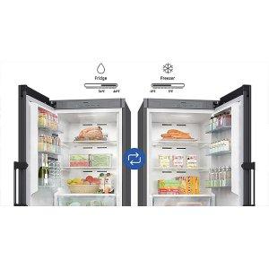 Switch from fridge to freezer