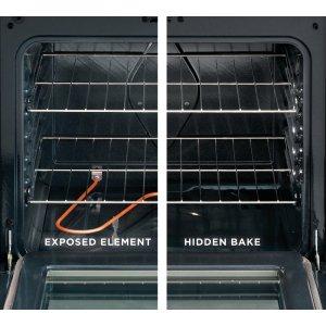 Hidden Bake Element